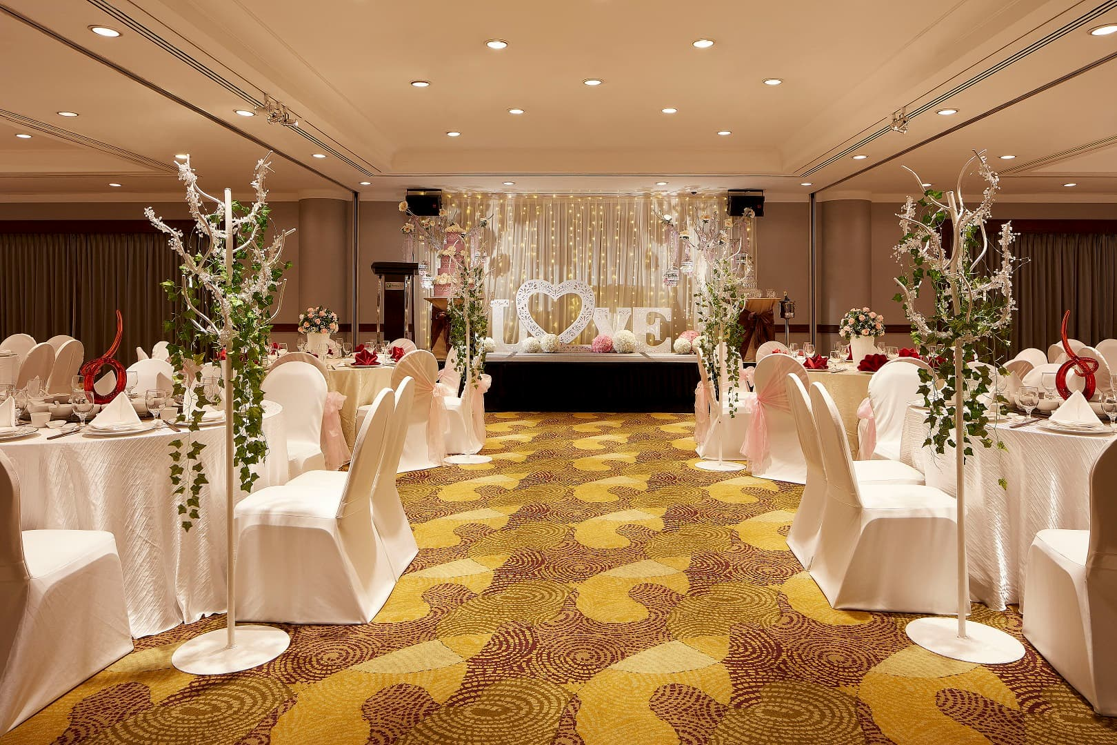 Holiday Inn Singapore Atrium Is A Proud Recipient Of The Her World Brides Venue Awards 2018 Awarded For Best Wedding Dinner Menu 4 Star And