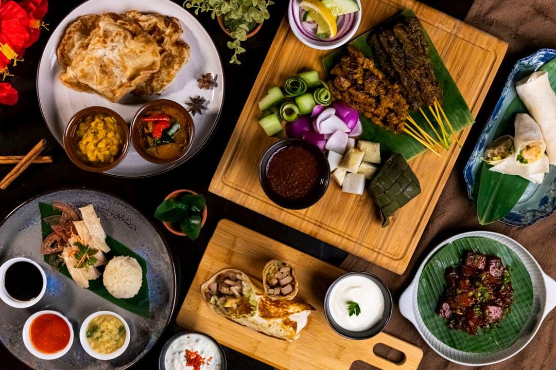 Atrium Restaurant Halal UOB Dining