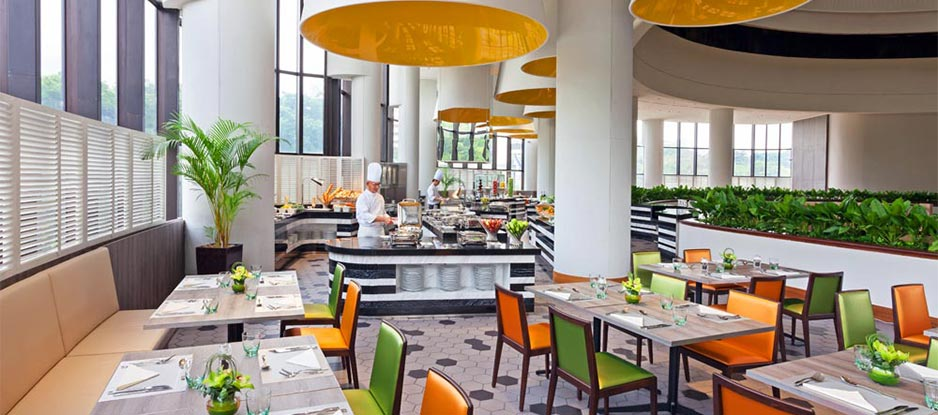 A Vibrant Dining Experience at Atrium Restaurant