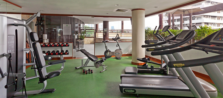 View of Fitness Room with Exercise Equipment